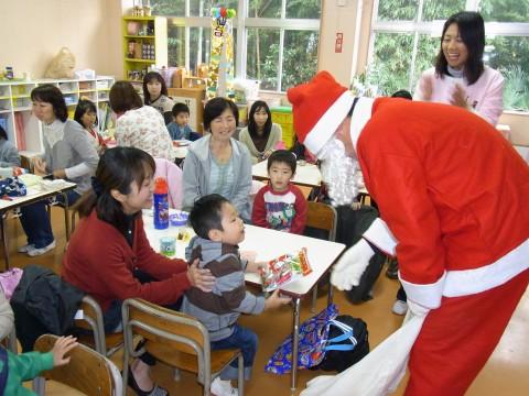 バンビクラブ クリスマス会 サンタさんまた来てね~~!!