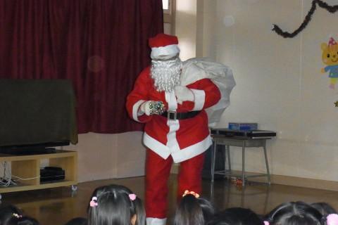 クリスマス会 お待ちかね~~~!!サンタさん登場☆