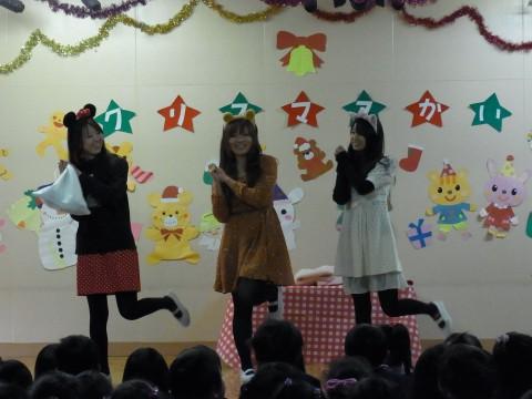 クリスマス会 最後は劇・・・