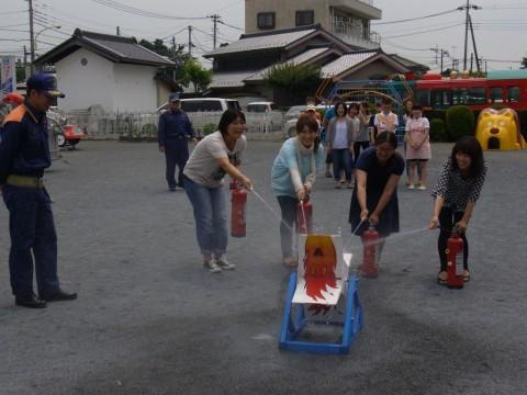 防火講習 H24 次は、実践!!