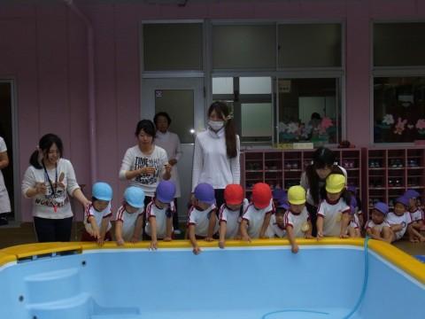 プール開き 今年も楽しいプール遊びができますように・・・!!